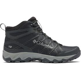 Columbia Peakfreak X2 Outdry Middelhoge Schoenen Heren, black/dark pewter